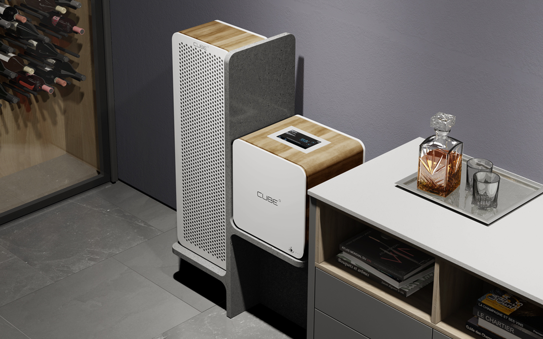 the cube perfect revolutionary wine cooling units